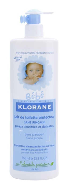 Klorane Bébé No Rinse Cleansing Milk