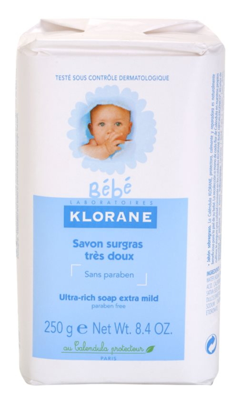 Klorane Bébé tuhé mýdlo pro děti