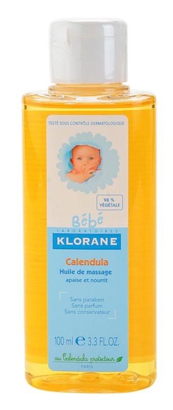 Klorane Bébé Calendula aceite para masaje para niños