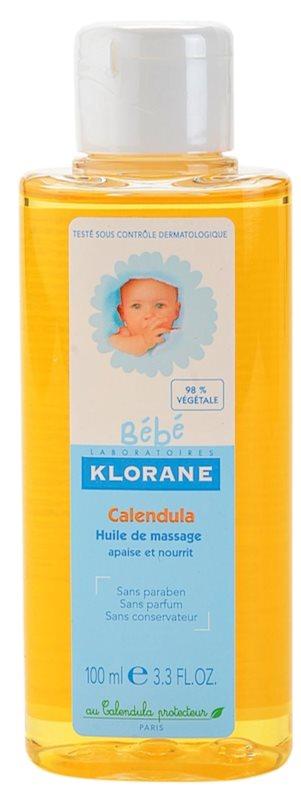 Klorane Bébé Calendula masážní olej pro děti