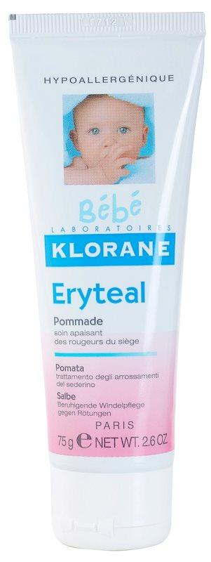 Klorane Bébé Erytéal ochranná mast na dětský zadeček