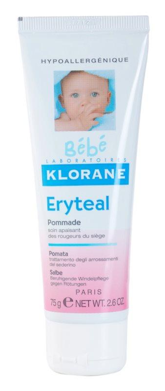 Klorane Bébé Erytéal zaščitno mazilo za otroško ritko