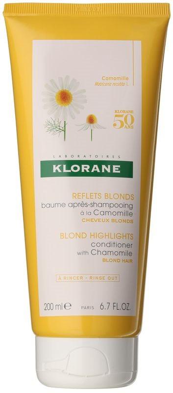 Klorane Chamomile balzam za sijaj za blond lase