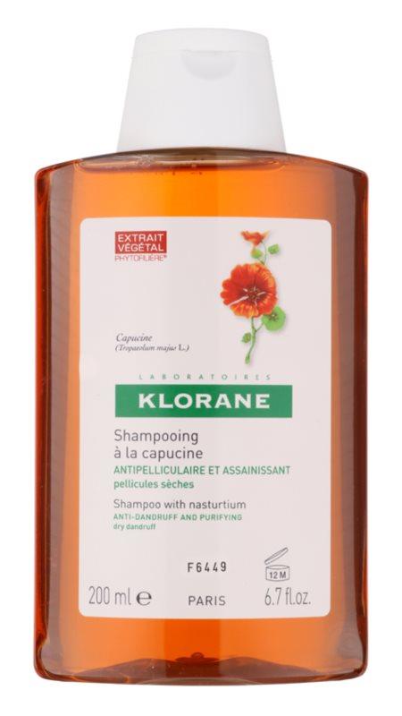 Klorane Nasturtium champô contra caspa seca