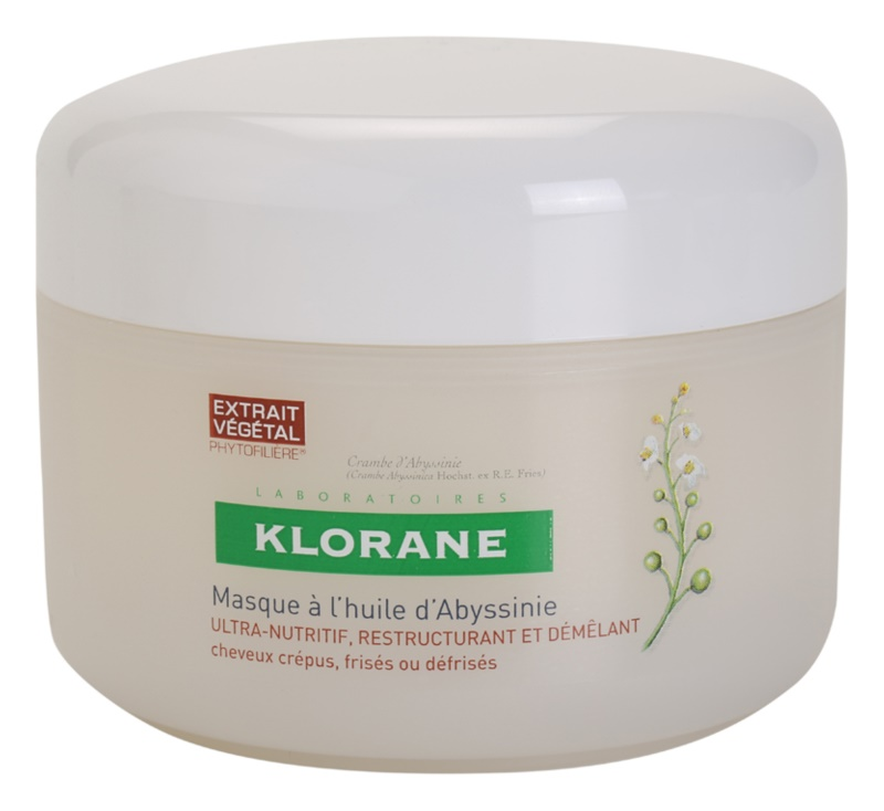 Klorane Crambe d'Abyssinie Fortifying Mask For Wavy Hair