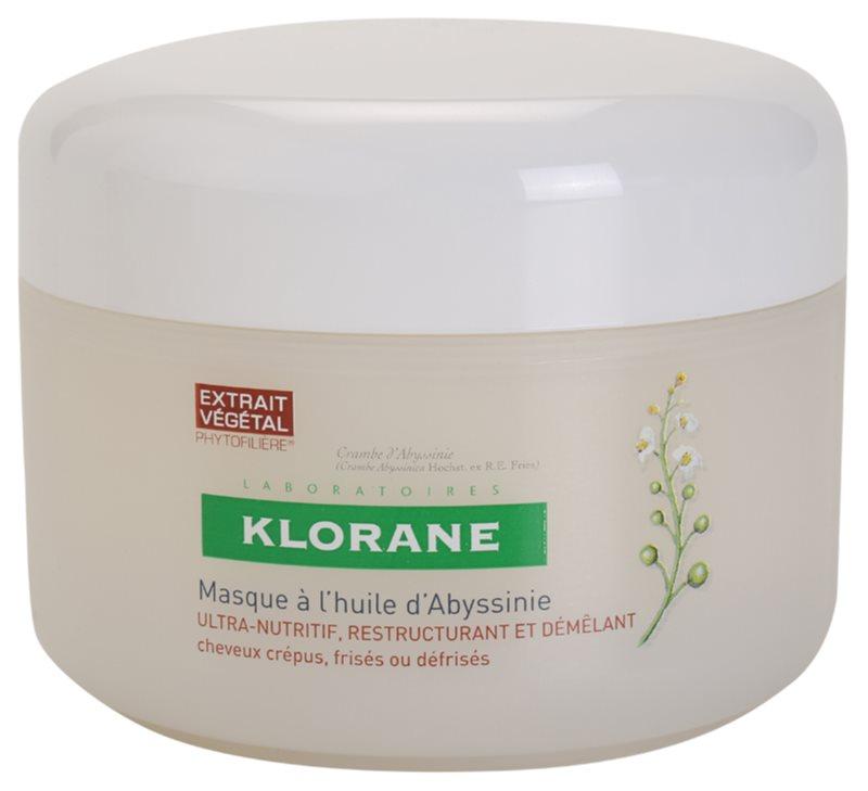 Klorane Crambe d'Abyssinie máscara fortificante para cabelo ondulado