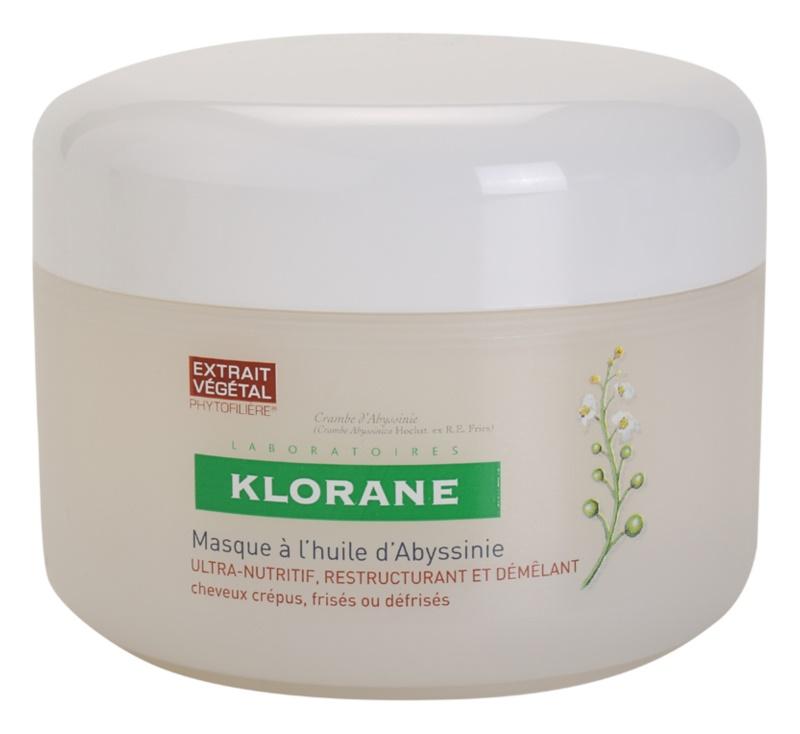 Klorane Crambe dAbyssinie stärkende Maske für welliges Haar