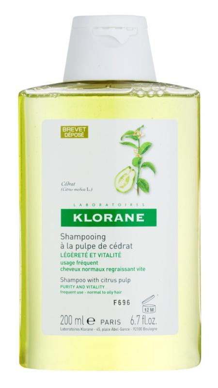 Klorane Cédrat champú para cabello normal