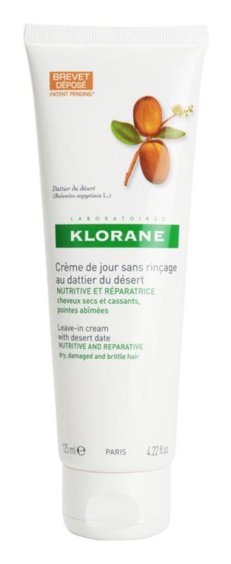 Klorane Desert Date bezoplachová krémová péče pro lámavé a namáhané vlasy