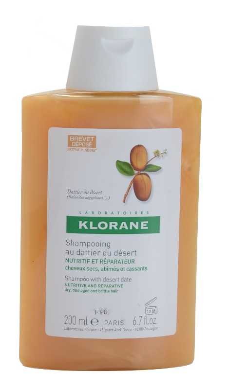 Klorane Desert Date Shampoo For Brittle And Stressed Hair