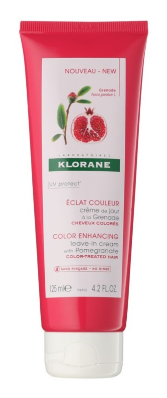 Klorane Pomegranate odżywka bez spłukiwania do włosów farbowanych