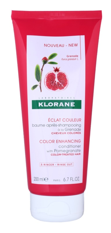 Klorane Pomegranate odżywka ożywiająca kolor
