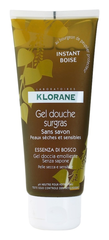 Klorane Hygiene et Soins du Corps Instant Boise sprchový gel