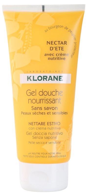 Klorane Hygiene et Soins du Corps Nectar d'été gel de banho nutritivo