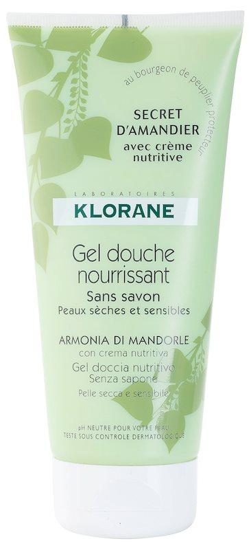 Klorane Hygiene et Soins du Corps Secret D'Amandier gel de banho nutritivo