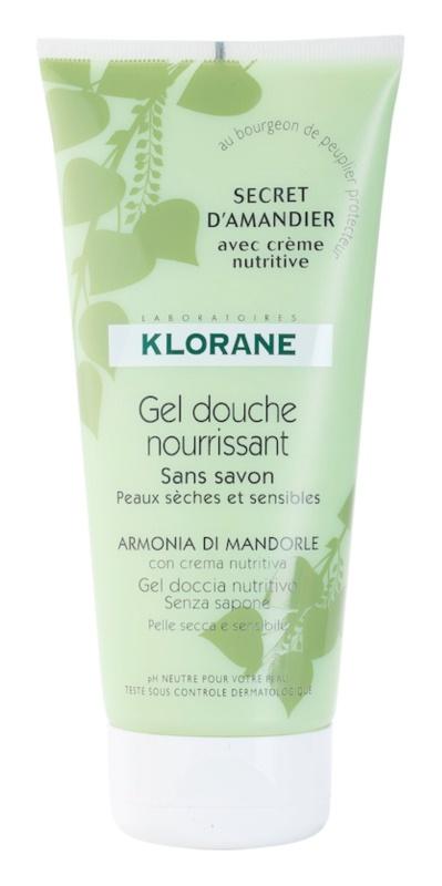 Klorane Hygiene et Soins du Corps Secret D'Amandier Nourishing Shower Gel