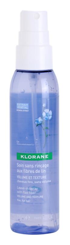 Klorane Flax Fiber spray care nu necesita clatire pentru dimensiune si forma