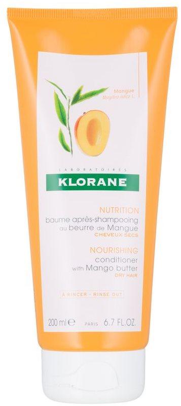 Klorane Mango tápláló kondicionáló száraz hajra