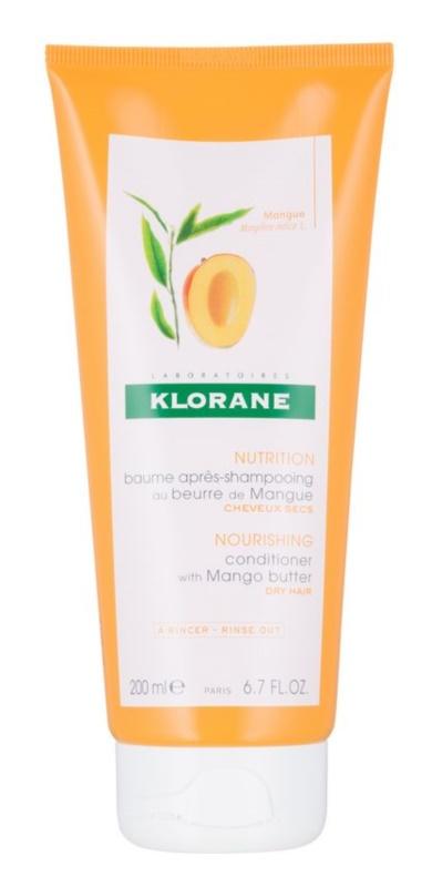 Klorane Mango výživný kondicionér pro suché vlasy