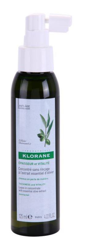 Klorane Olive Extract leöblítést nem igénylő készítmény spray formában a meggyengült hajra