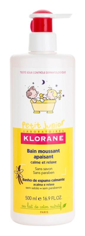 Klorane Junior spuma de baie pentru copii