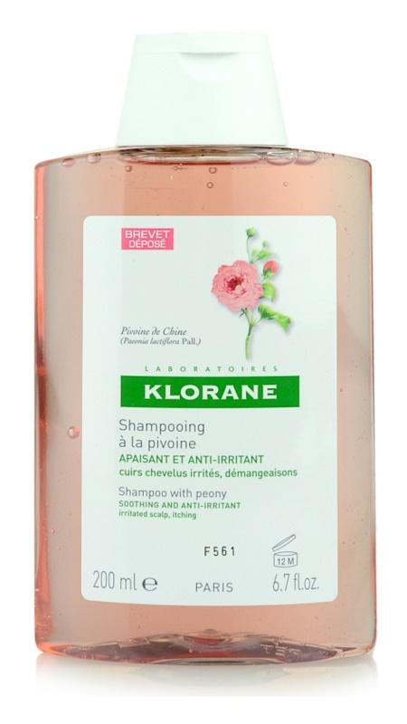 Klorane Peony šampon zklidňující citlivou pokožku hlavy
