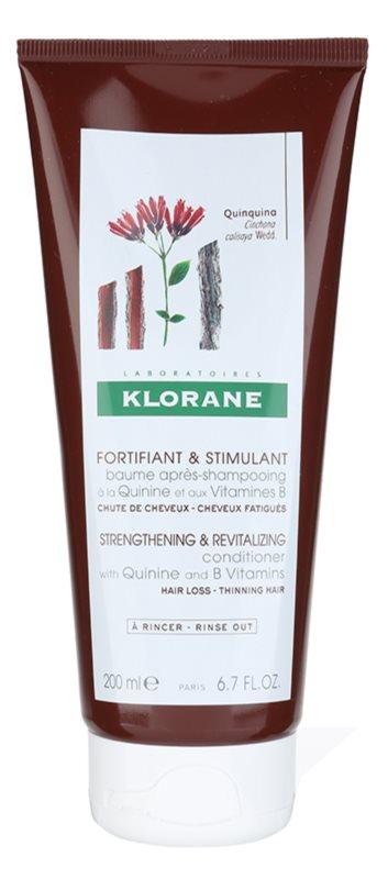 Klorane Quinine odżywka rewitalizująca przeciw wypadaniu włosów