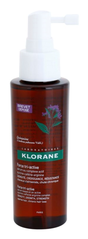 Klorane Quinine sérum proti chronickému vypadávaniu vlasov s trojitým účinkom