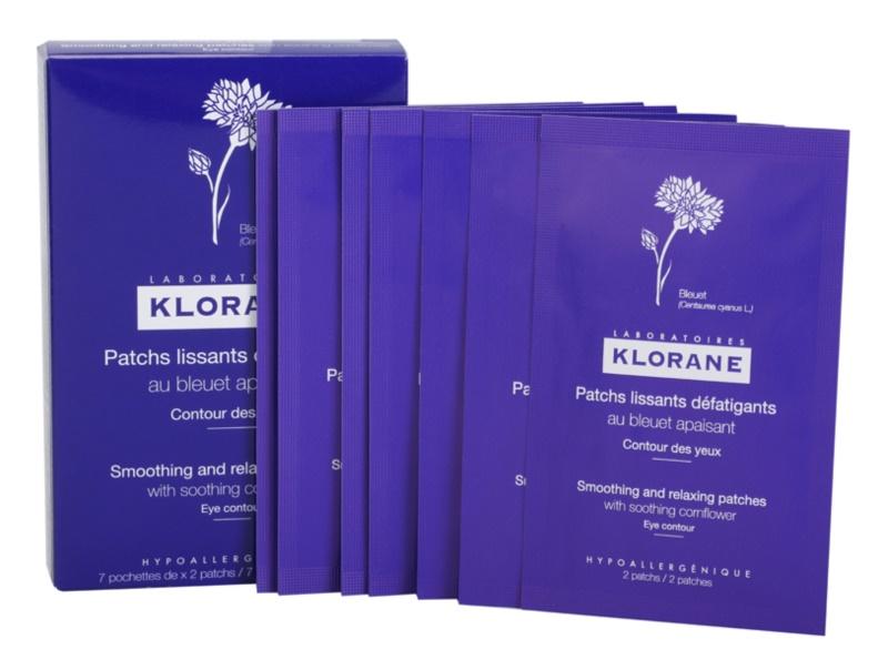 Klorane Cornflower vyhladzujúce a relaxačné náplaste na očné okolie