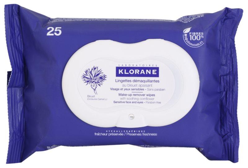 Klorane Cornflower Cleansing Wipes