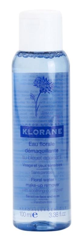 Klorane Cornflower água desmaquilhante