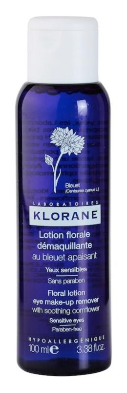 Klorane Cornflower eau démaquillante pour yeux sensibles