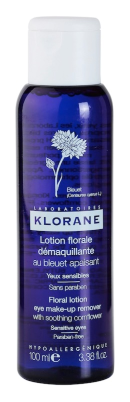 Klorane Cornflower odličovacia voda pre citlivé oči