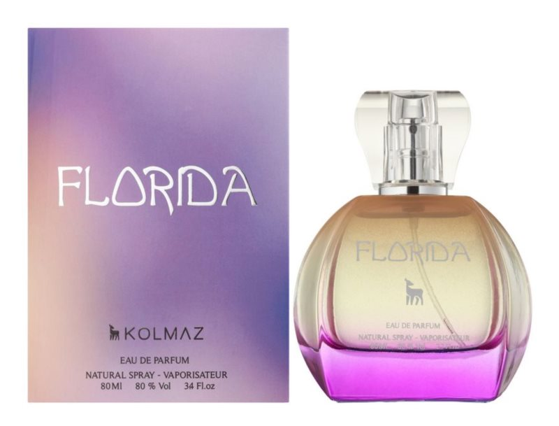 Kolmaz Florida Eau de Parfum for Women 80 ml
