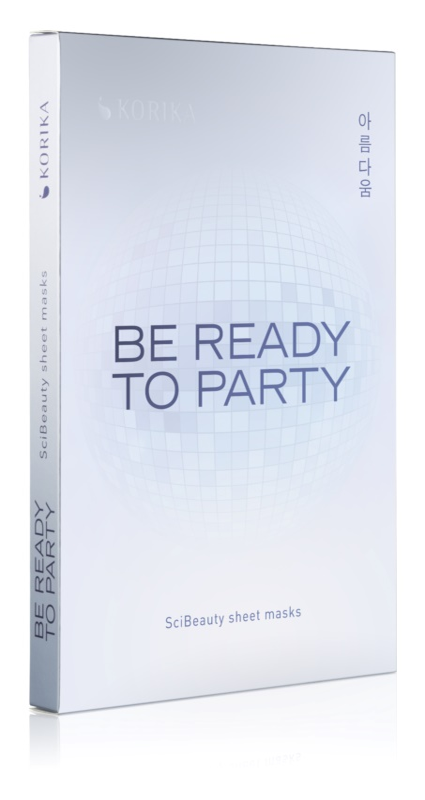 KORIKA Be Ready to Party zestaw kosmetyków I.