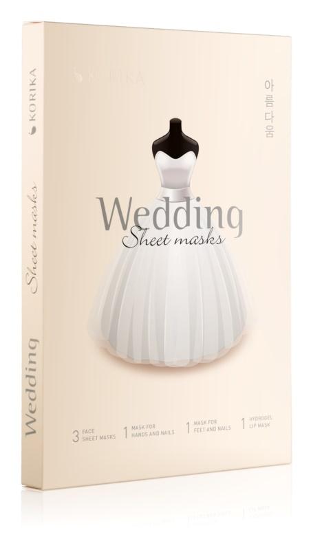 KORIKA Wedding zestaw kosmetyków I.