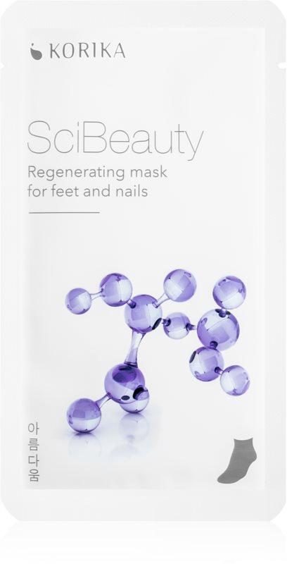 KORIKA SciBeauty mască regeneratoare pentru picioare și unghii