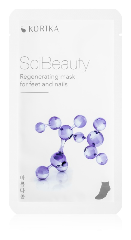 KORIKA SciBeauty Regenerating mask for feet and nails