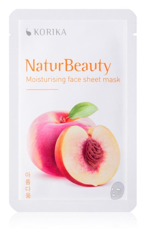 KORIKA NaturBeauty Feuchtigkeitsspendende Tuchmaske