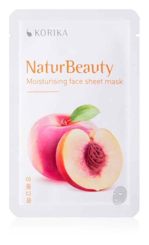 KORIKA NaturBeauty Moisturising face sheet mask