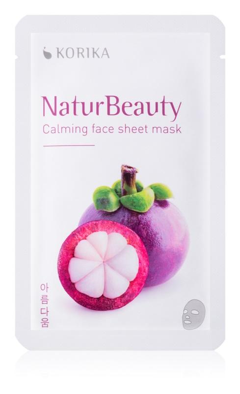 KORIKA NaturBeauty maska łagodząca w płacie