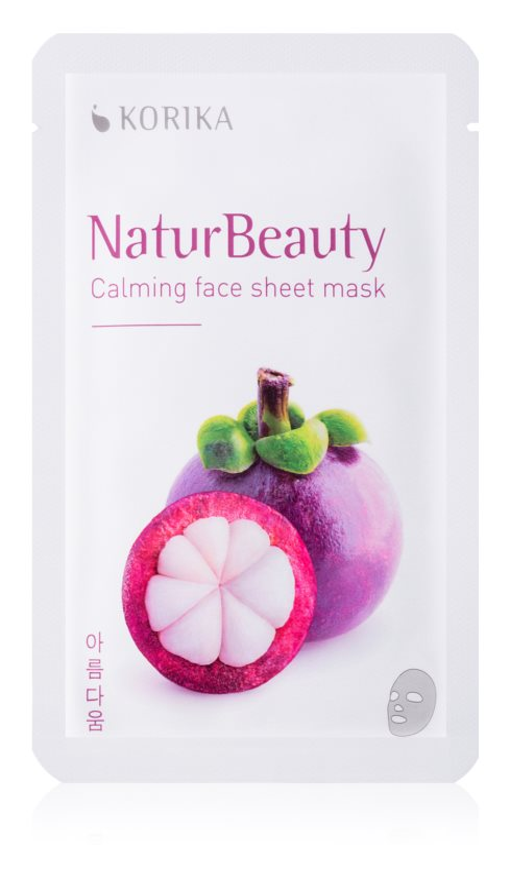 KORIKA NaturBeauty zklidňující plátýnková maska