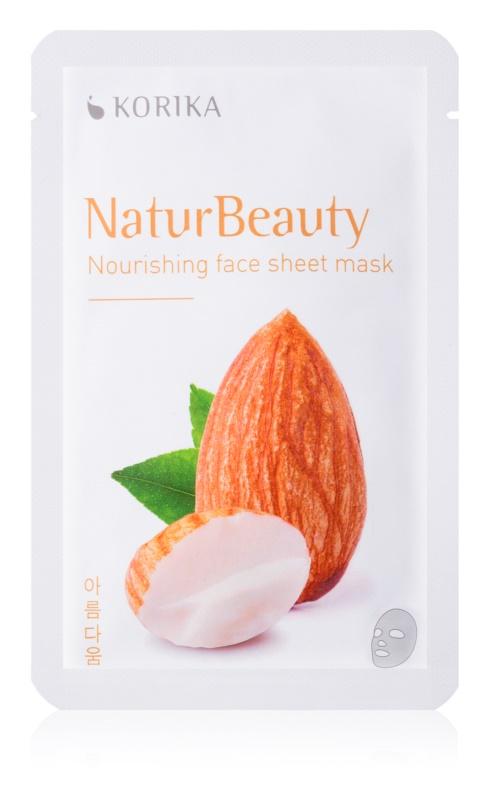 KORIKA NaturBeauty hranilna tekstilna maska