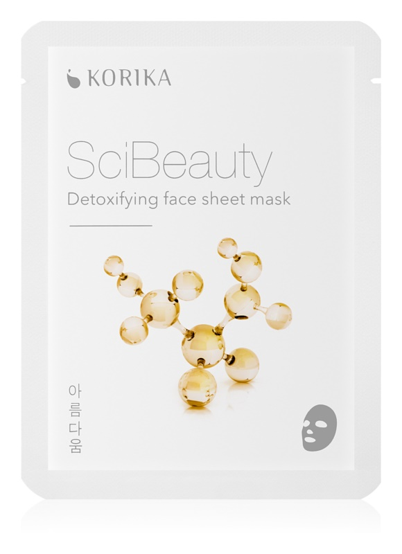 KORIKA SciBeauty detoxifying face sheet mask