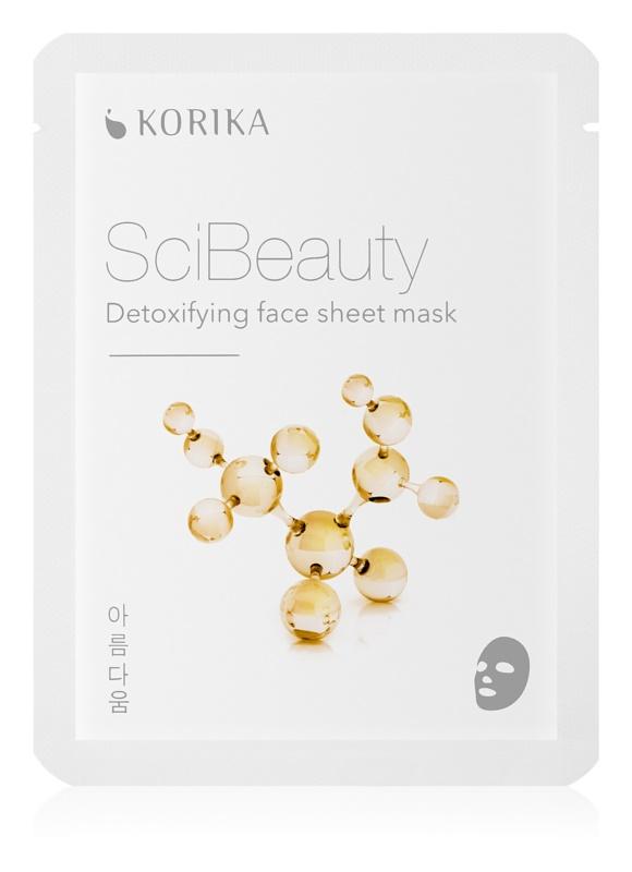KORIKA SciBeauty detoxikačná plátenná maska