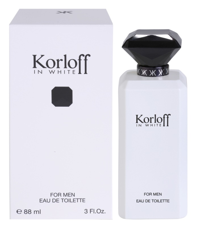 Korloff In White Eau de Toilette voor Mannen 88 ml