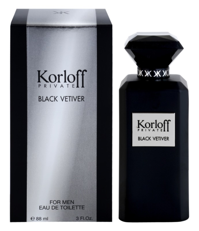 Korloff Korloff Private Black Vetiver eau de toilette unisex 88 ml