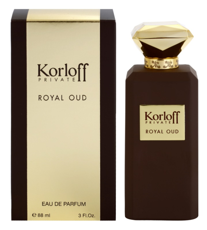 Korloff Korloff Private Royal Oud eau de parfum mixte 88 ml
