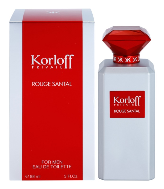 Korloff Korloff Private Rouge Santal toaletna voda uniseks 88 ml