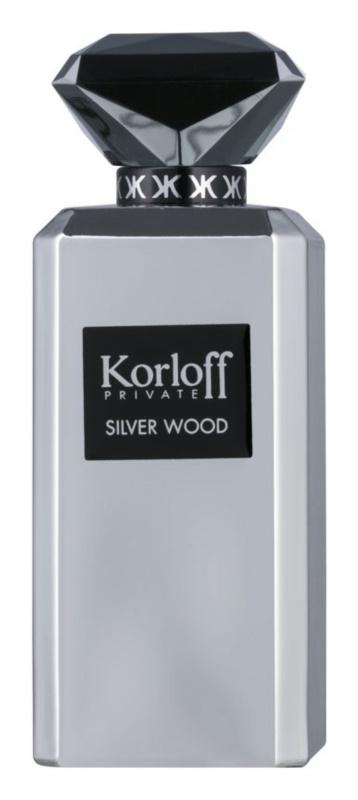 Korloff Korloff Private Silver Wood eau de parfum férfiaknak 88 ml